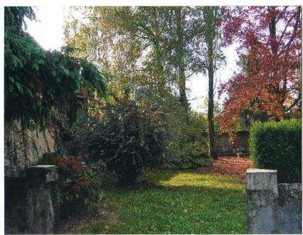 le jardin du presbytère avant ( photo Céline Caillabet)