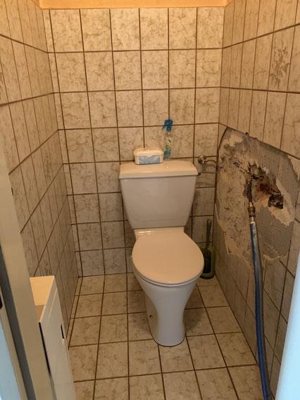 WC vor Sanierung