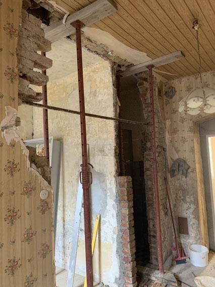 Wohnungs Umbau Vorher