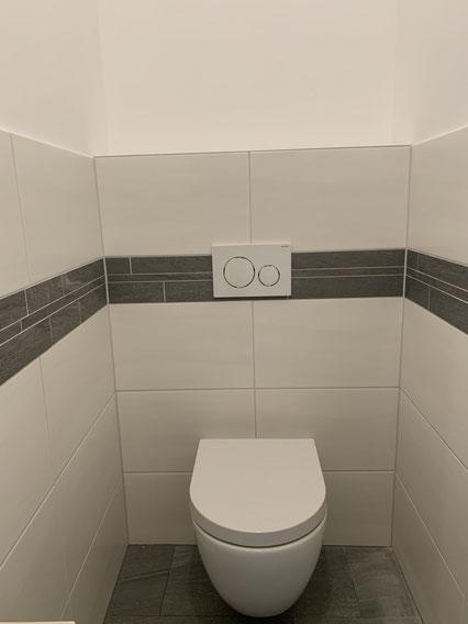 WC nach Sanierung