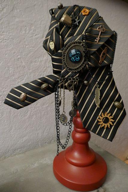 cravate steampunk : univers emylila