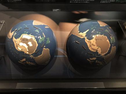 地球館B2展示【周南極海流 模型】