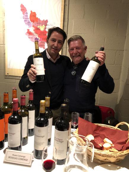 with Alvaro Comenge great winemaker of Ribera del Duero D.O.