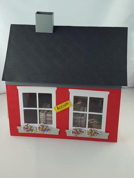 #Explosionsbox #Stempelliese.com #Haus #Stampinup