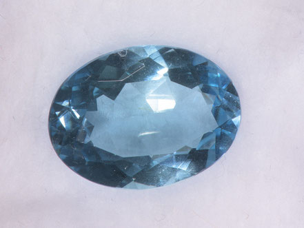 Aquamarin facettiert, 10,8 ct, Brasilien