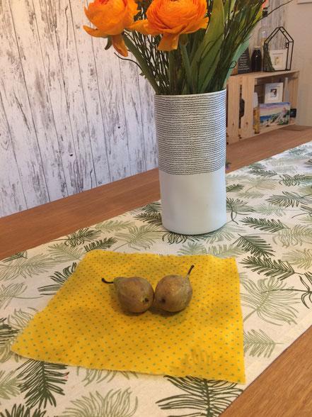 Natürliche Alternative zu Frischhaltefolie