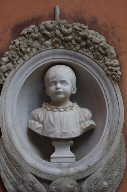 Auf dem Campo Santo Teutonico, Rom.