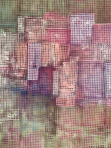 CITY OF CHAOS | 2020 | ACRYLIC ON CANVAS | 150 x 120 |  3.500,00€