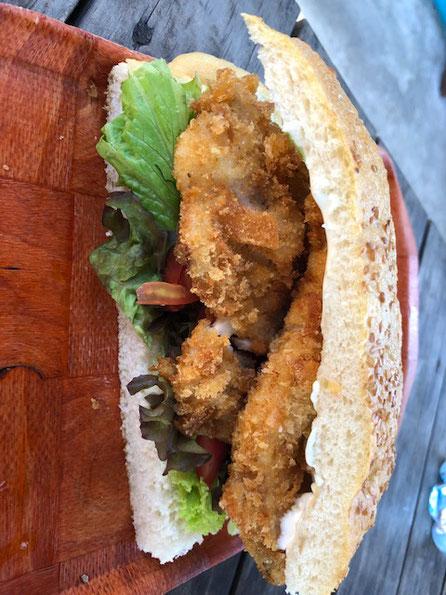 Fish sandwich Rarotonga,