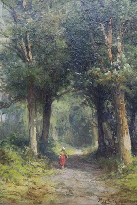 te_koop_aangeboden_een_schilderij_van_de_kunstschilder_pieter_adrianus_schipperus_1840-1929
