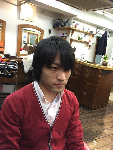 横浜・美容室☆女性の笑顔を作る専門家☆美容家 奥条勇紀 メンズツーブロックスタイル