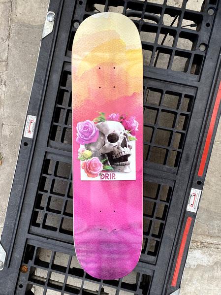 Drip Skateboards - Drip Sunset Skull Deck