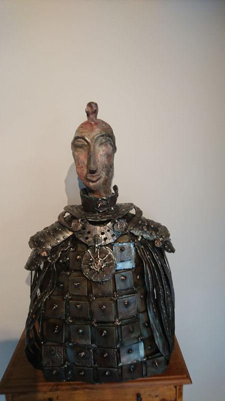Samouraï - Sculpture Nadine Ledru