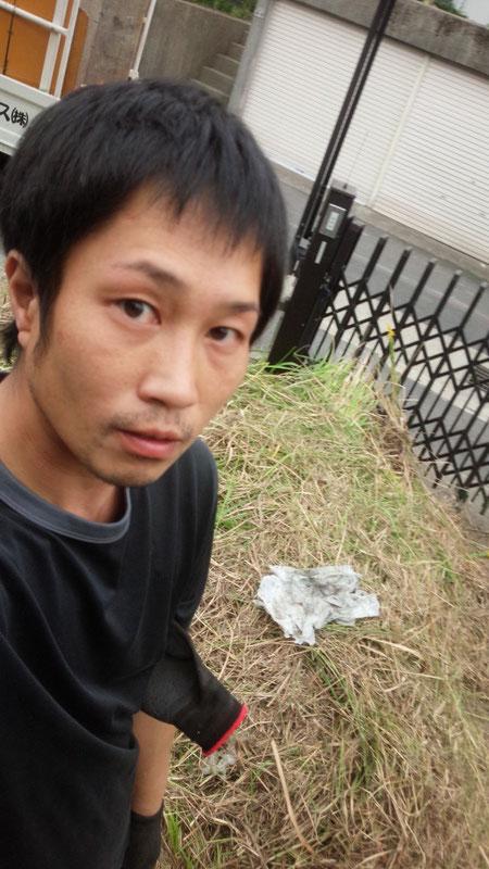 社長不用品回収作業の写真