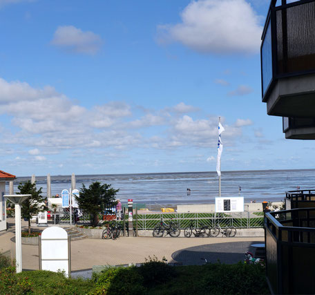 Der Meerblick der Ferienwohnung Residenz Meeresbrandung22