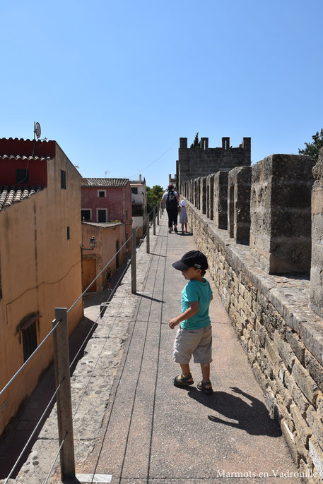 Sur les remparts d'Alcudia
