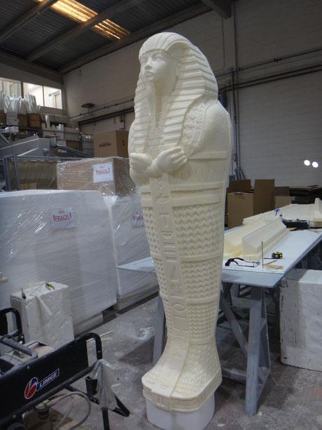 Momia Sarcófago Egipto