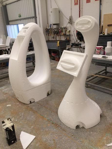 Modelos de proyecto fin de curso politécnica, robots