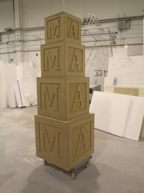 Torre de Cubos de Letras, para logos etc.