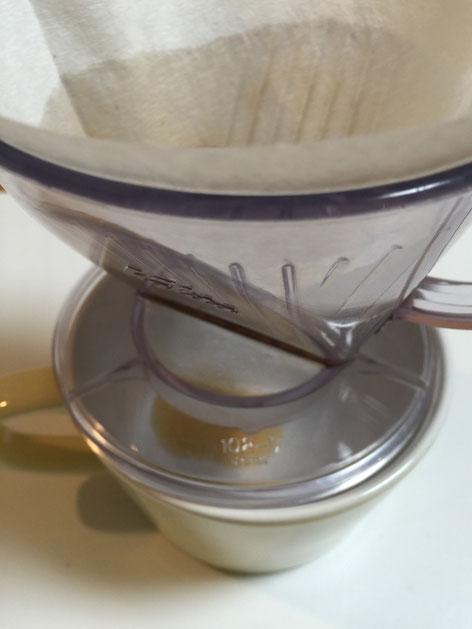お!どんぐりコーヒーが出て来ている!!!