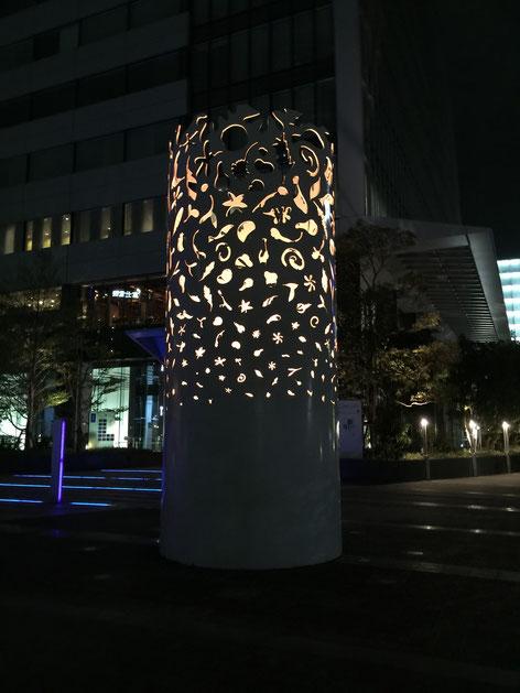 名古屋ルーセントタワーにあった照明。