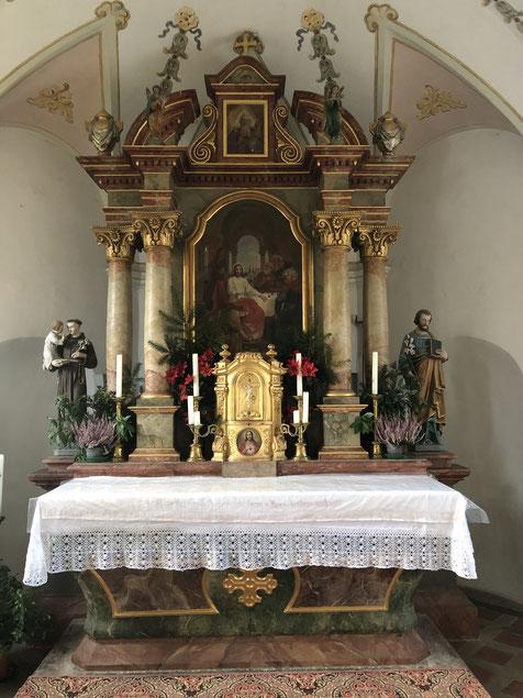 Altar vergolden in Bayern Deutschland