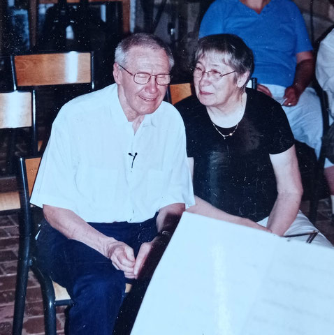 György et Marta Kurtág, Cordes-sur-Ciel 2007