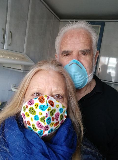 Pandemia Covid 19. Año 2020. Merche. P. Privada.