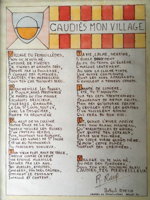 poème Rieux