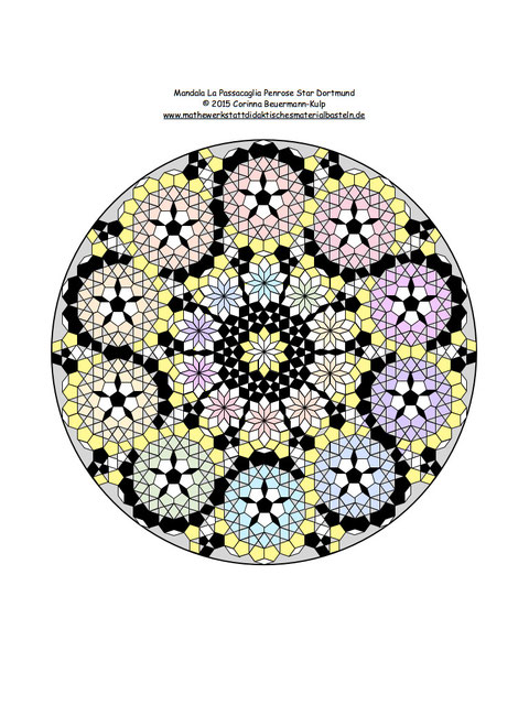 Mandala La Passacaglia Penrose Star Dortmund