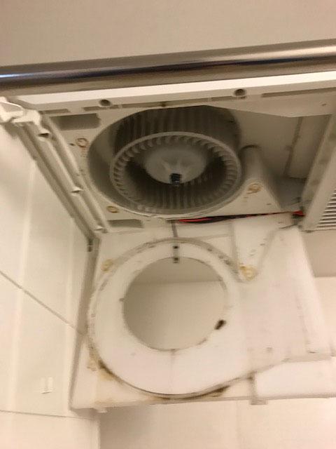 浴室乾燥機のクリーニングはオーシーエルサービスへ。