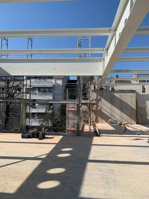 Umbau Güterstrasse 246 Basel  Rüdisühli Ibach Arch. / Projektüberarbeitung Baumann PM