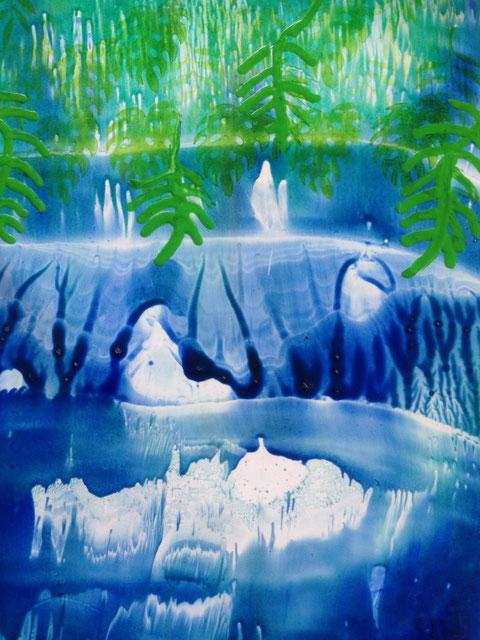 Lichterspiel auf dem Wasser - Barbara Richard-Anhalt