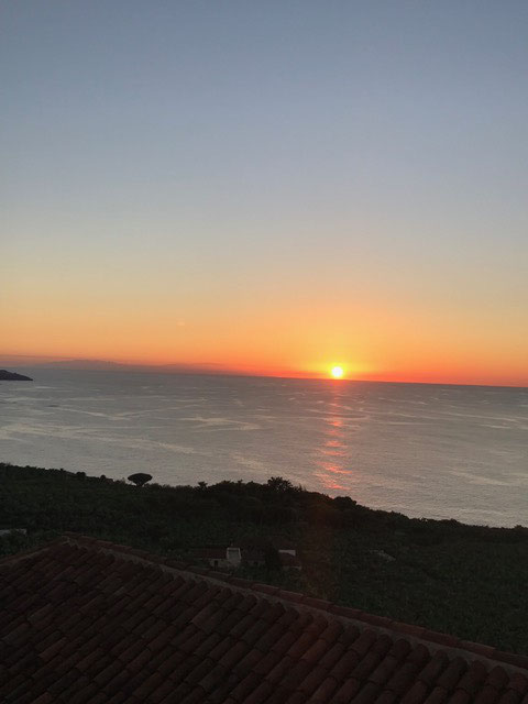 Wanderwege Teneriffa, Sonnenuntergang Mirador San Pedro