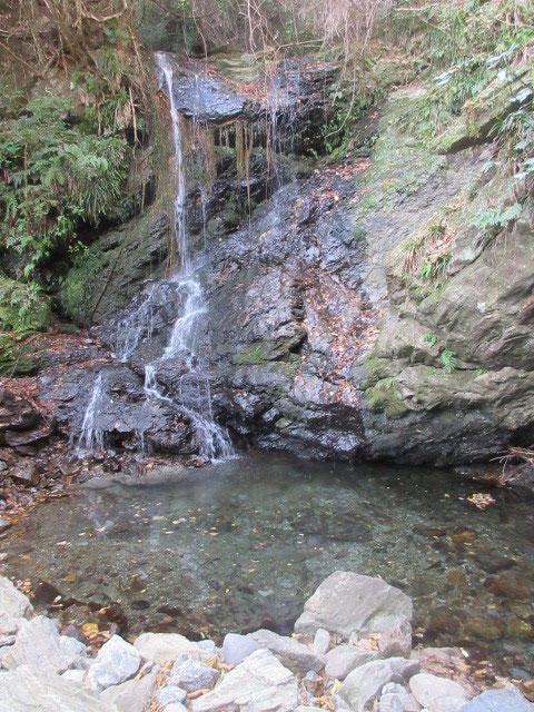 二番目、樽沢の滝は「たるんざわ」とも呼ばれ、殆どの人は今回が初めて、、、。