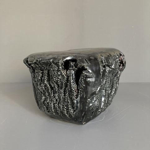 Ceramique - Grès L28 cm X l22 cm X H19 cm