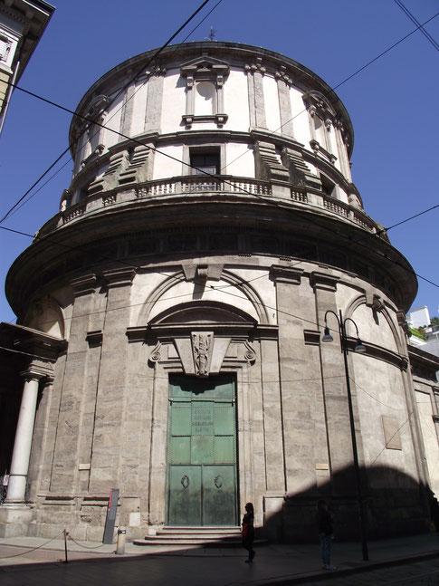 OmoGirando il Tempio Civico di San Sebastiano