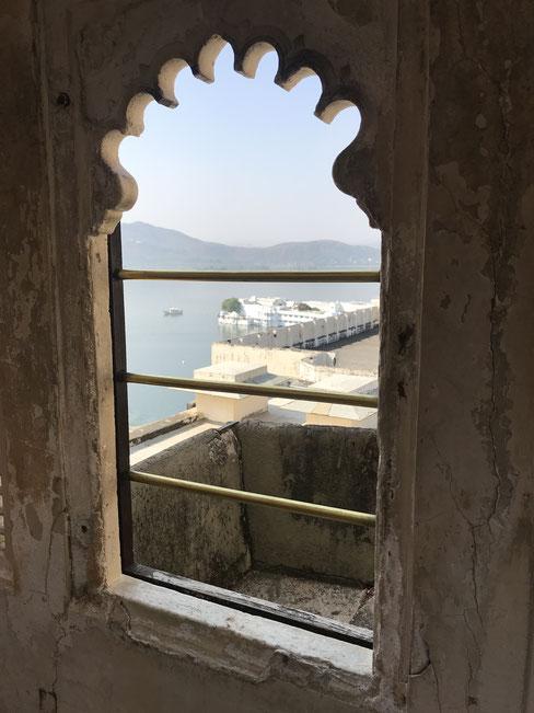 Blick aus dem City Palace