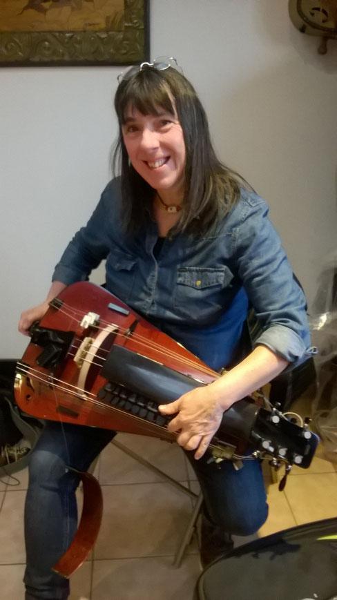 La célèbre harmoniciste belge Geneviève Dartevelle a suivi ce stage