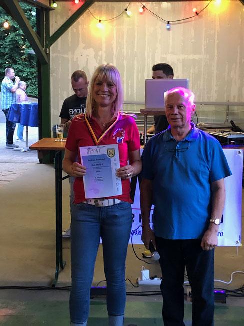Stadtmeisterin 2019: Andi Birnbach