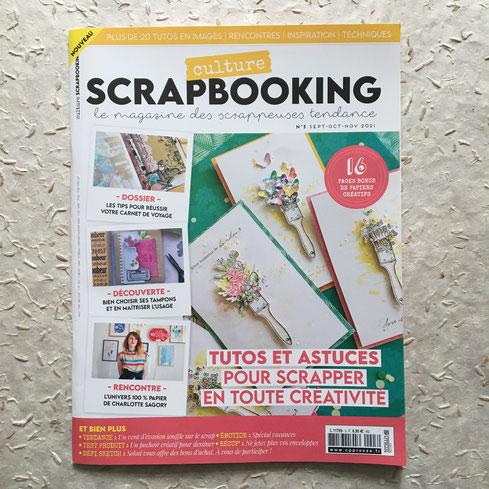 Magazine Culture Scrapbooking n°3 Sept oct nov 2021