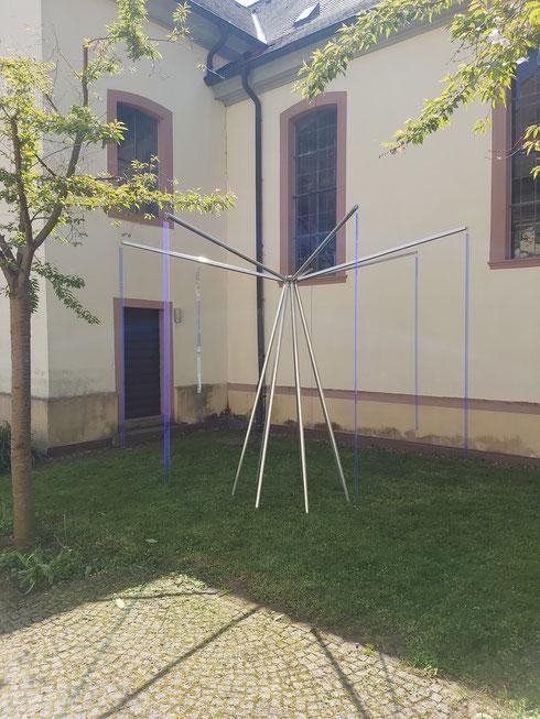 """""""Sieben Blau für Vier"""" Konrad Wallmeier"""
