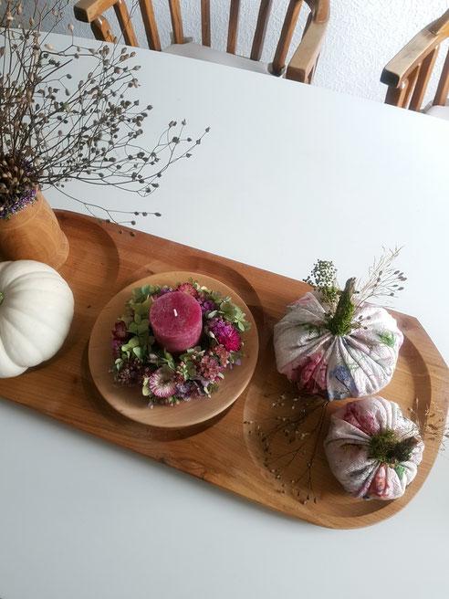 diy kürbis deko,diy kürbis stoff, diy pumpkin, pumpkin decor, diy autumn decor