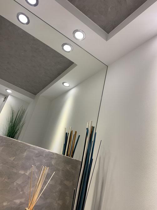 Beleuchtung Gäste WC, Maler Bergheim, Fugenlose Beschichtung