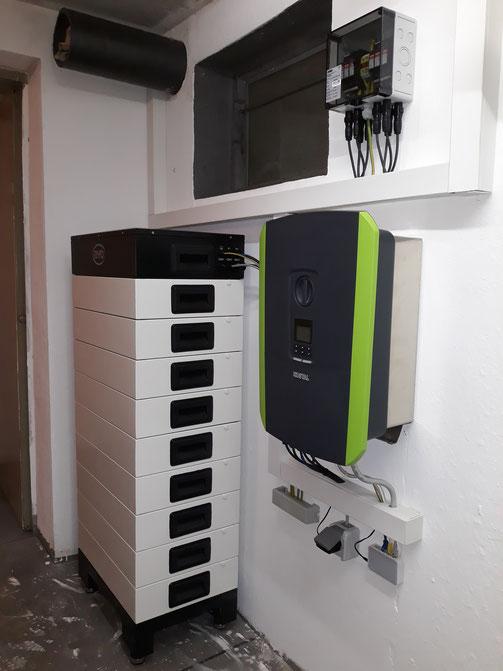 BYD 11,5 kWh HV Speicher mit Kostal Plenticore 8.5