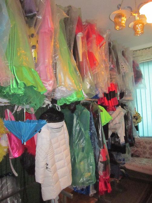 Танцювальний одяг і самі шили, і купували