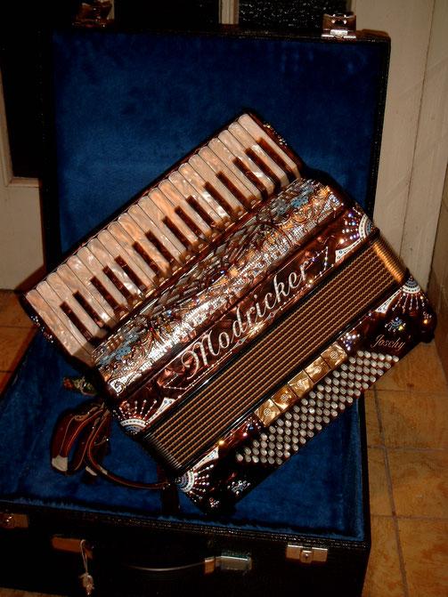 Piano Akkordeon,37 4 96, Musette, Verzierungen,a mano, Fein Stimmung
