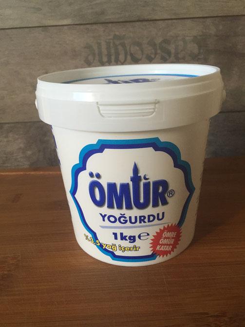 Oemur Joghurt - Jogurdu mit 3,5 % Fett