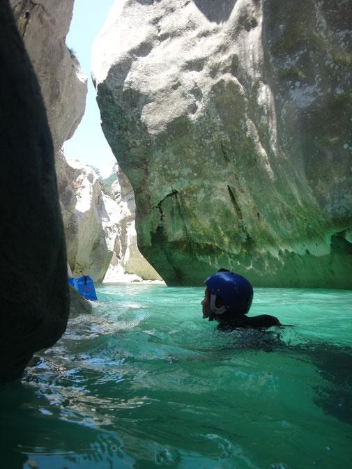 Randonnée Aquatique pres de Vence Cote d Azur