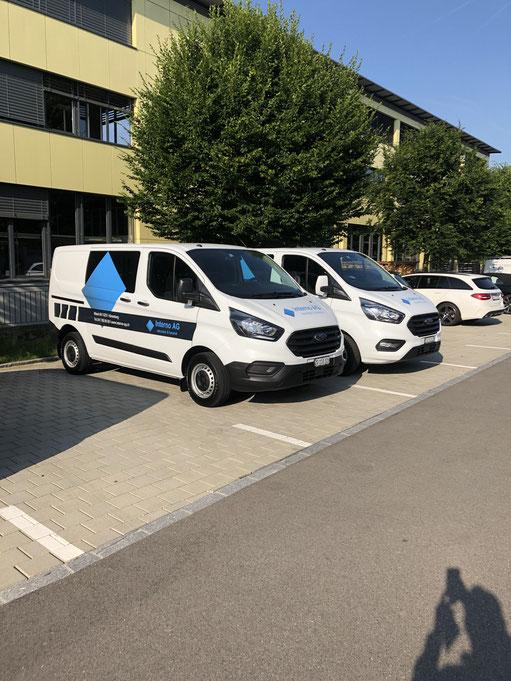 zwei neue Fahrzeuge Juni 2019